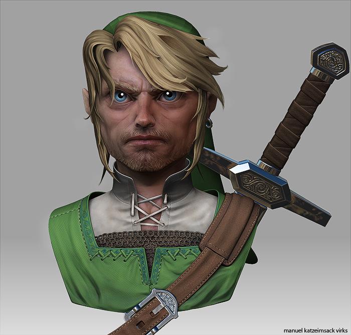 Character Link Manuel Quot Katzeimsack Quot Virks Freelance 3d