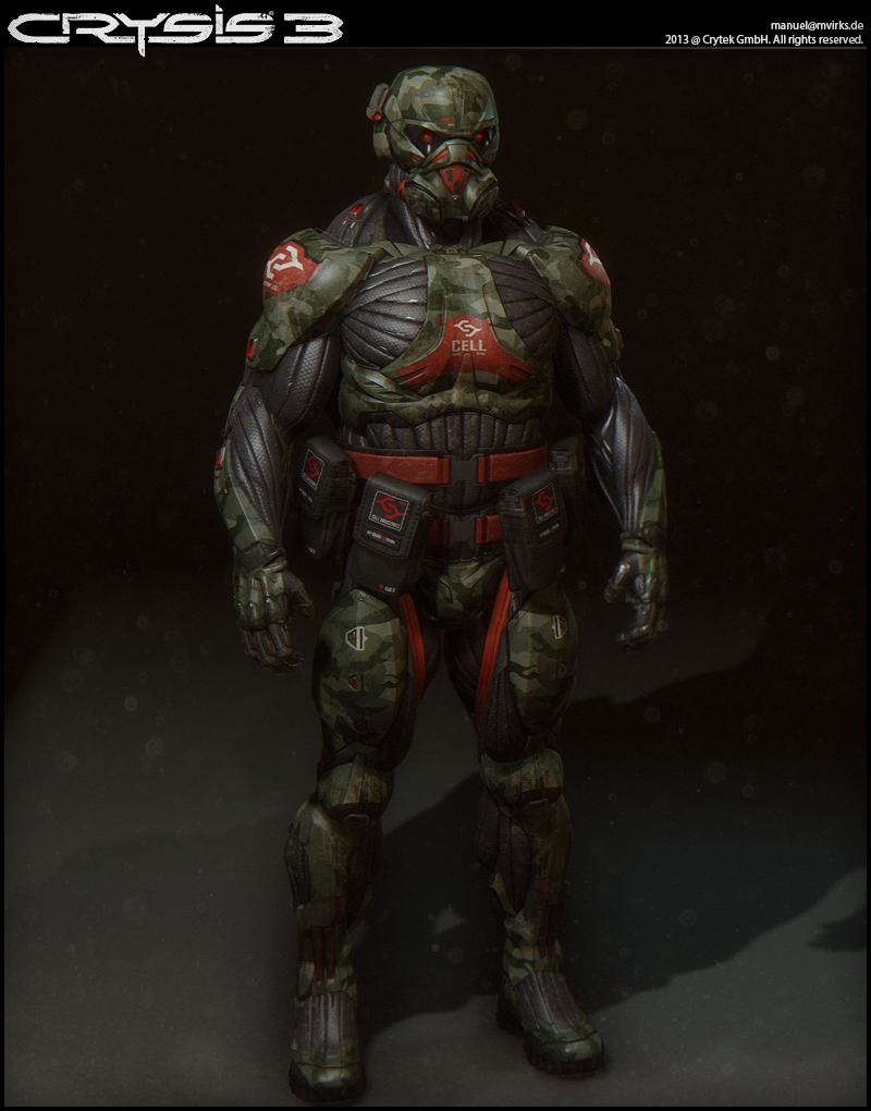Crysis 3 character art [image heavy] — polycount.