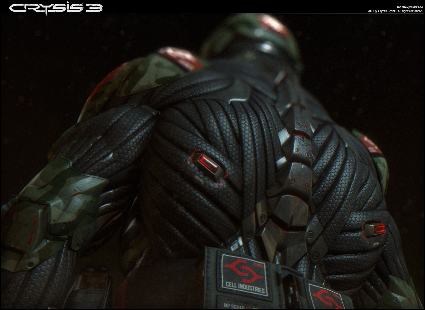 Character Crysis 3 Nanosuit Mp Amp Alien Helmet Manuel